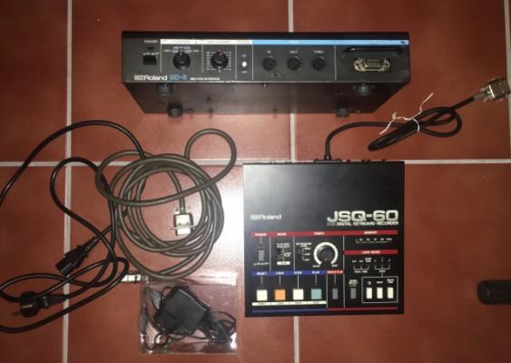 Roland JSQ-60+Roland MD-8 o cambio por Roland System-1