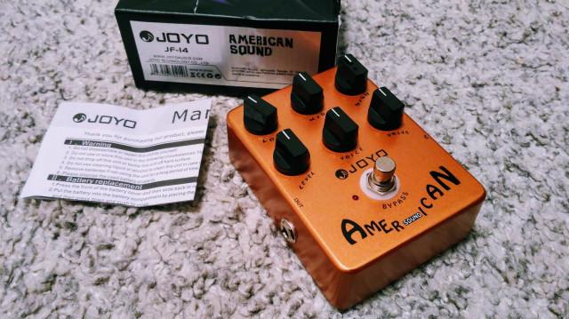 Joyo American sound overdrive JF-14 (envío incluido)