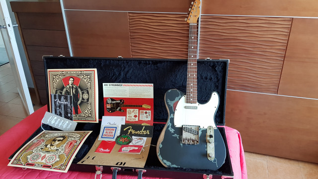 Fender Joe Strummer Telecaster. Vendo - Cambio