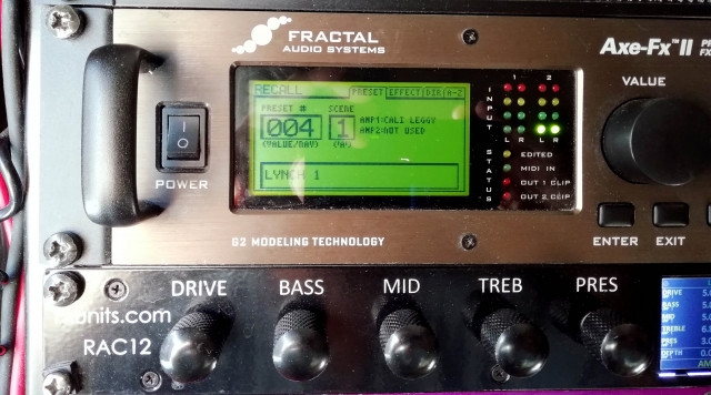 Rac12 Fx Units para Axe Fx II