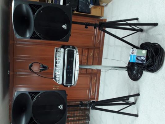 Vendo equipo  Dj + equipo sonido
