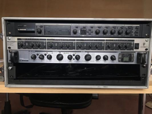 TC ELECTRONIC M300 + TC ELECTRONIC FINALIZER EXPRESS + BEHRINGER MULTICOM