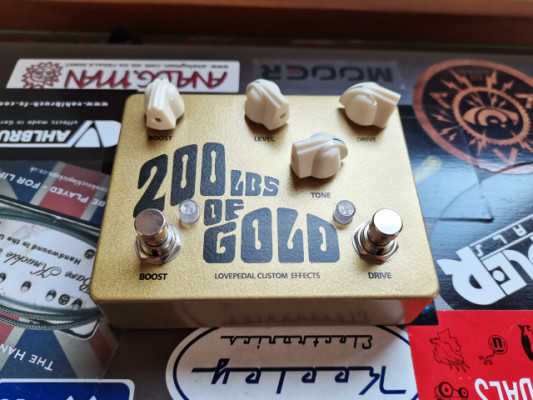 Lovepedal 200lbs of gold