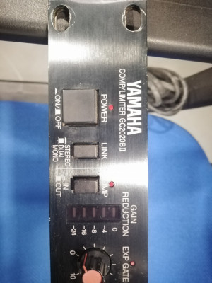 Cambio o vendo, Compresor yamaha