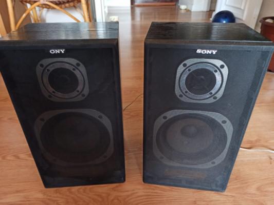 Pareja Altavoces Hi-Fi 2 vias Sony