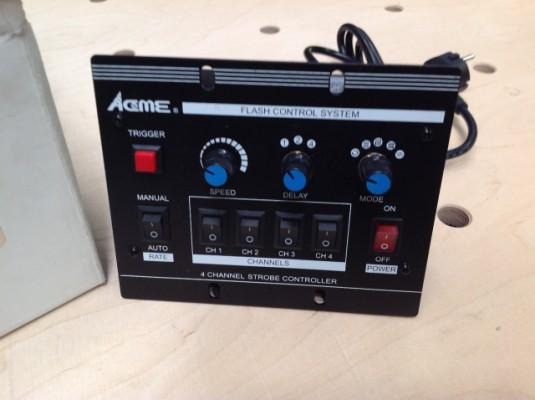 Controlador de 4 estroboscopios Acme bf-04c