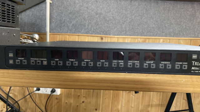 MESA BOOGIE TRIAXIS PROGRAMMABLE PRE-AMP