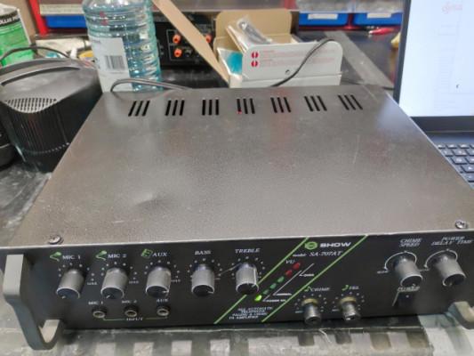 AMPLIFICADOR LINEA 100V SHOW SA707 AT