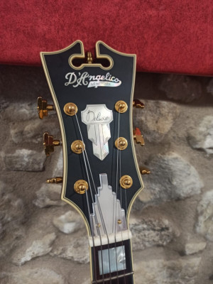 D'angelico Deluxe EXL-1 Matte Plum Limited Edition