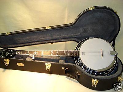 Banjo Fender FB 55 + flight case + accesorios