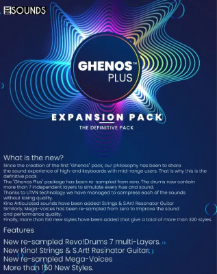 GHENOS PLUS EXPANSION PACK PARA TYROS