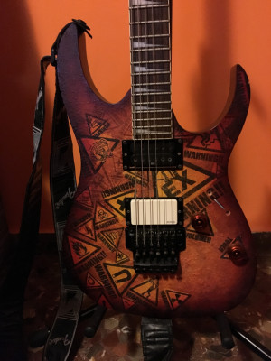 Guitarra Ibanez RG 320 PG Warning