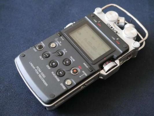 Grabadora Sony pcm D50