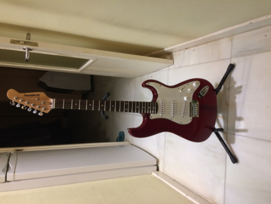 Guitarra Eléctrica con soporte 'Academy'