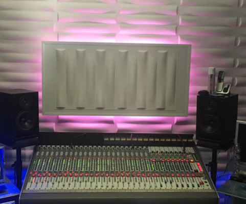 Panel difusor con luz