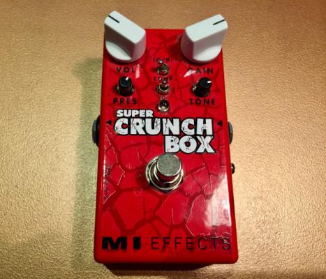 MI Audio Super Crunch Box (Overdrive/Distorsión Marshall)