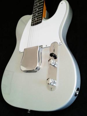 Telecaste Esquire Mojo Guitars silver sparkle