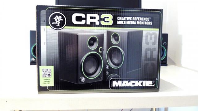 Monitores de estudio Mackie CR3 como nuevos