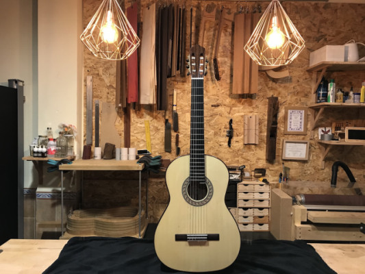 Guitarra flamenca cipres luthier 100% artesana maciza