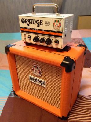 Orange micro terror (Cabezal)