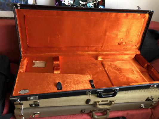 Estuche Fender G&G Dlx Strat/Tele Case BK