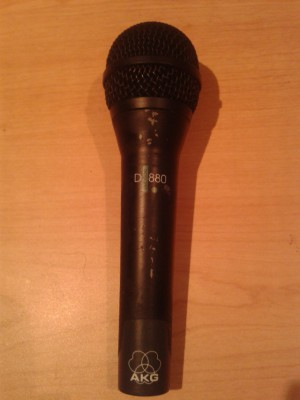ó cambio AKG D 880 Microfono Vocal dinámico