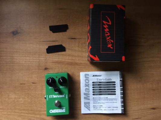 Maxon OD808 por Ibanez TS Mini + diferencia