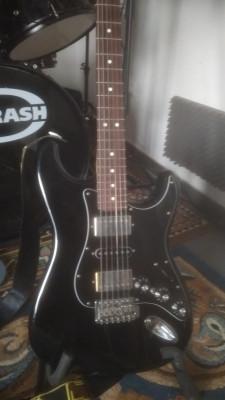 Fender stratocaster blacktop