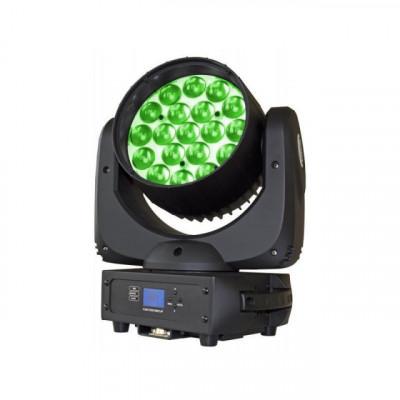 BT-W19L10 CABEZA MOVIL WASH LED 19 X 10W RGBW BRITEQ