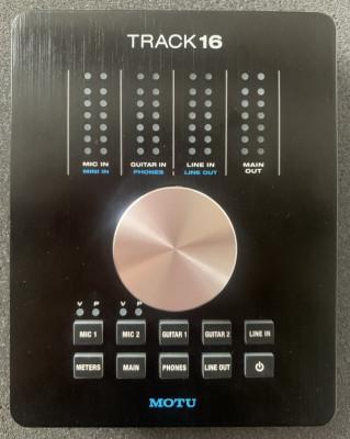 Tarjeta de sonido profesional Motu Track16