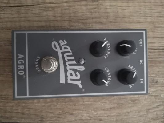 Pedal Overdrive Agro Aguilar