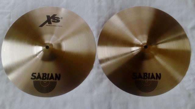 Hi Hat Sabian Xs 20 Nuevo