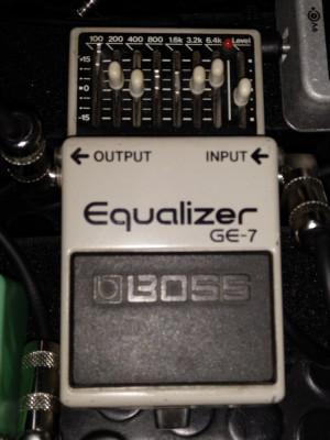 Equalizer Boss Ge7