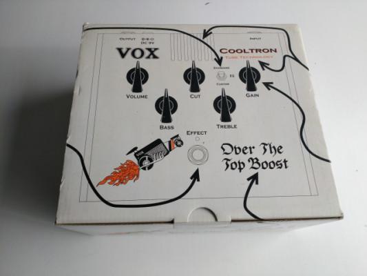 Pedal Vox Cooltron Brit Boost