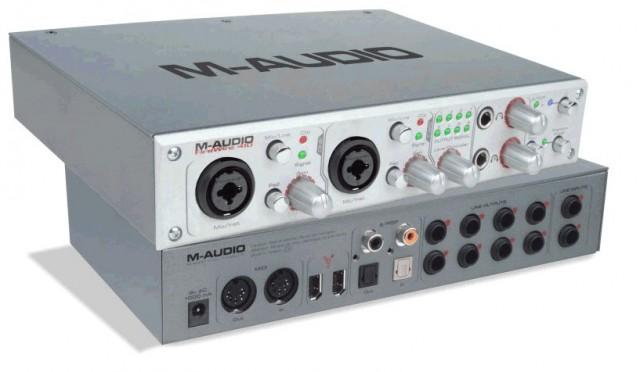 Targets de sonido m audio FireWire 410