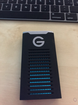Disco duro externo G-Drive mobile SSD 2 Teras