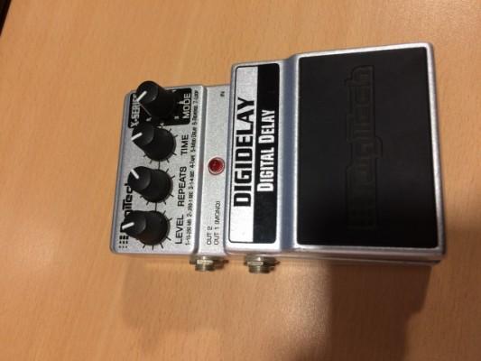 Digitech XDD DigiDelay Guitar Pedal