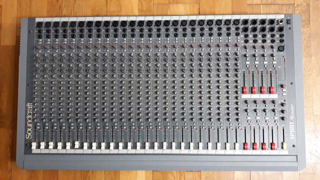 Soundcraft Spirit Monitor