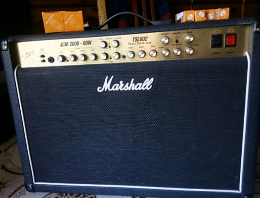 Marshall JCM 2000 TSL 602