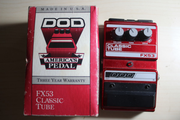 Pedal Overdrive DOD FX53 Classic Tube