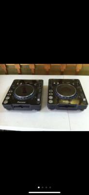 Pareja de platos Pioneer CDJ-1000 mk3
