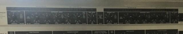 Compresor de sonido Behringer  COMPOSER