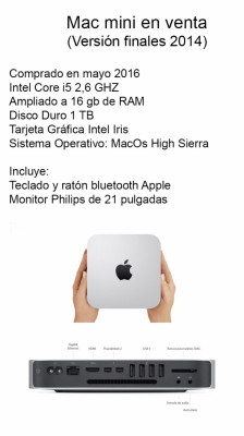 Mac Mini Core i5