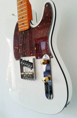 Telecaster Esquire Mojo Guitars artic white