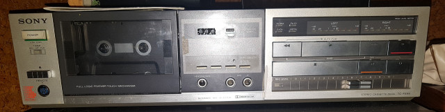 Sony Estéreo cassette