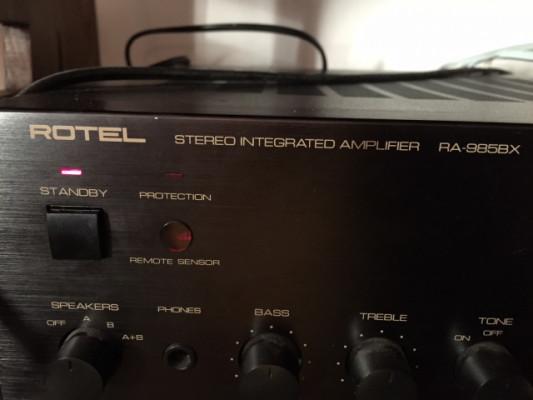 Amplificador etapa de potencia Rotel RA985BX