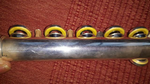 Flauta traversa yamaha 281sii
