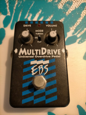 Pedal bajo EBS Multidrive Black Label