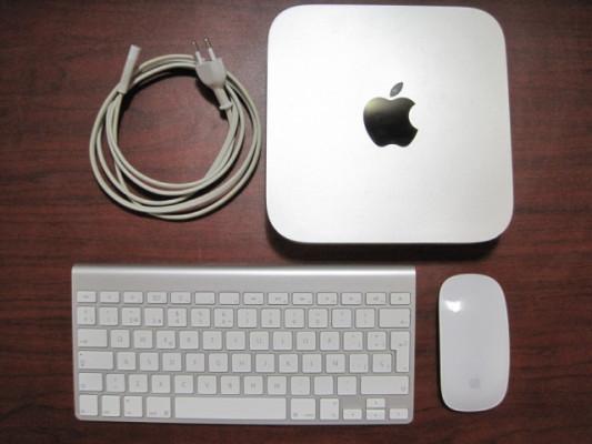 Mac mini server i7 quad core, ssd 480, hdd 1Tb y 16RAM