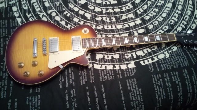 Pack Guitarra Sx Tipo Les Paul Nueva y ampli